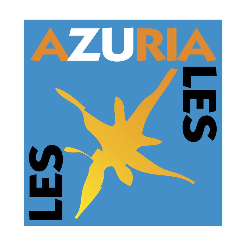 Les Azuriales vector