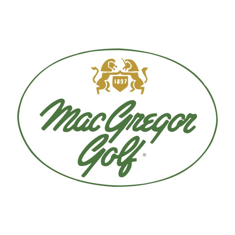 MacGregor Golf vector