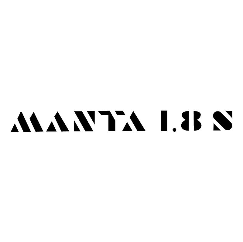 Manta 18s vector