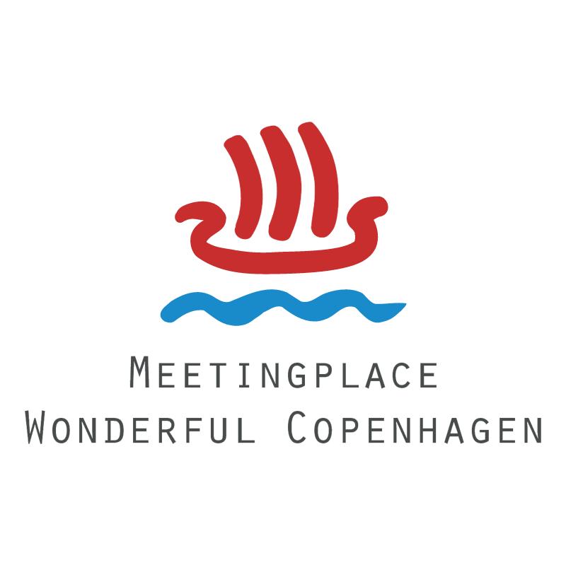 Meetingplace Wonderful Copenhagen vector