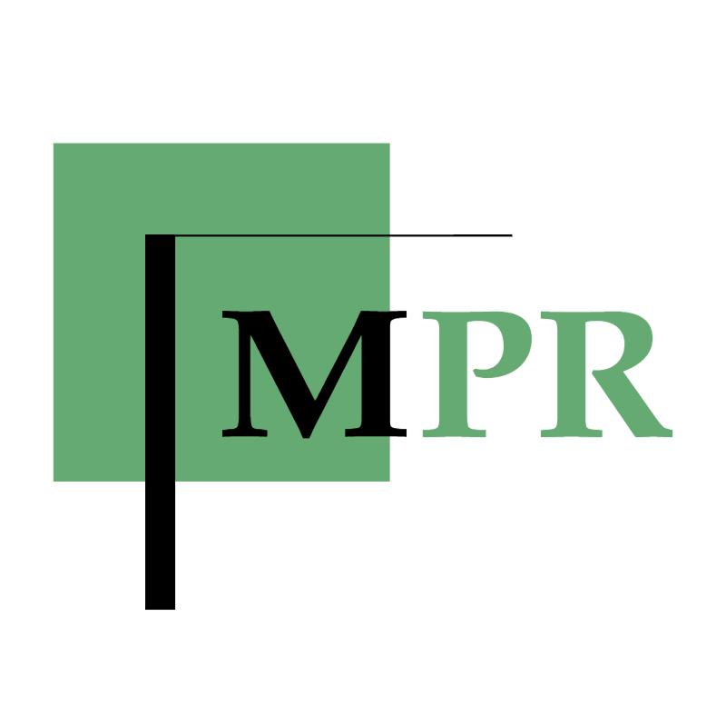 MPR vector logo