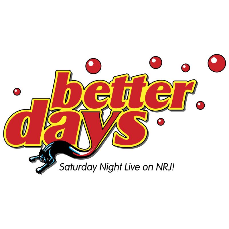 NRJ Better Days vector