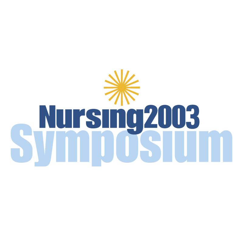 Nursing 2003 Symposium vector
