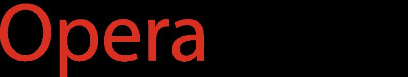 Opera Mini browser vector