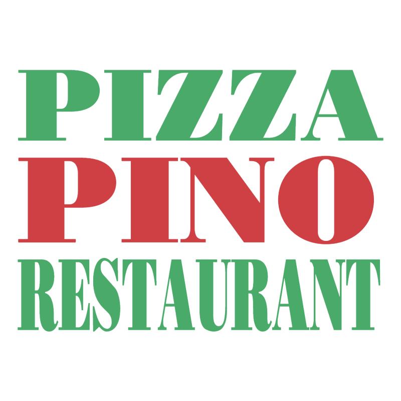 Pizza Pino Restaurant vector