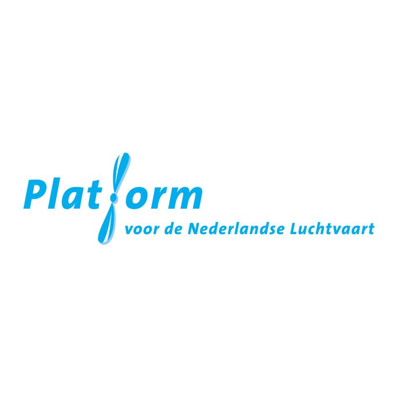 Platform voor de Nederlandse Luchtvaart vector logo