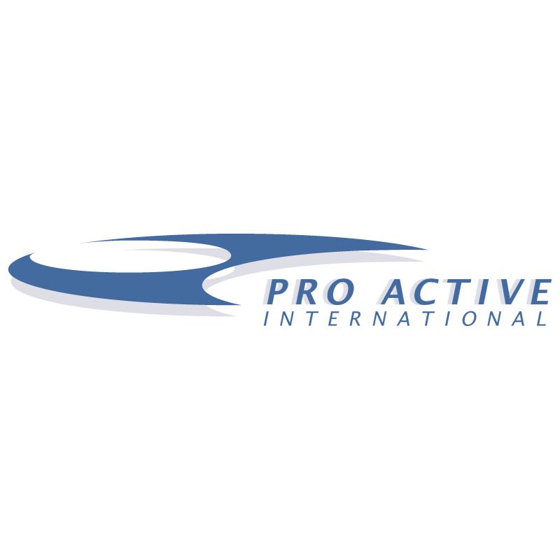 Pro Active International vector
