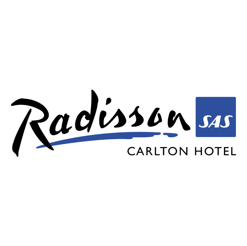 Radisson SAS Carlton Hotel vector