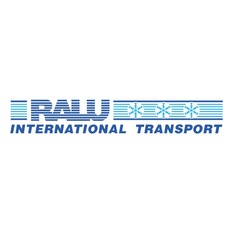 Ralu International Transport vector logo