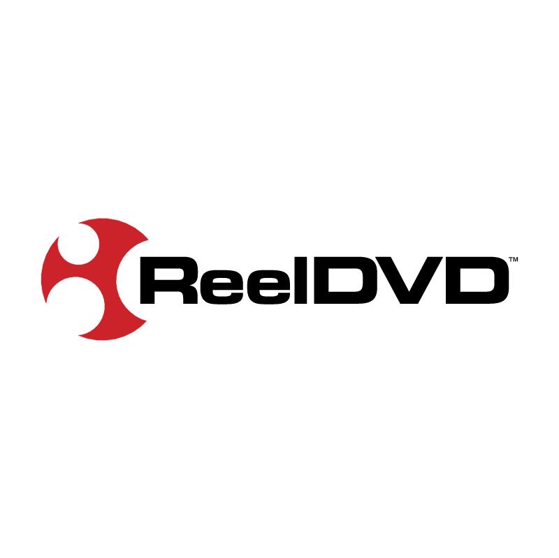 Reel DVD vector