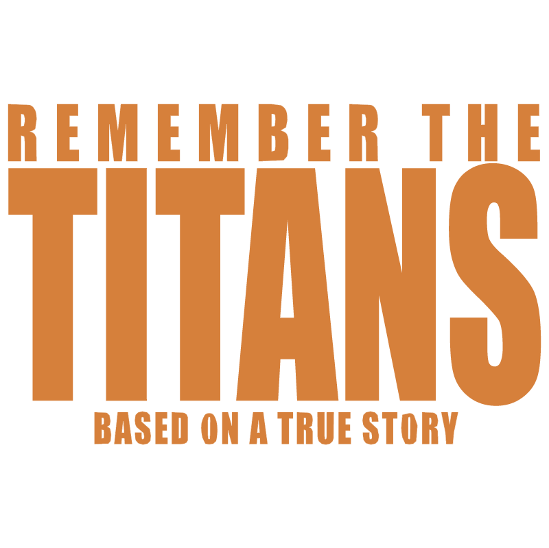 Remember the Titans vector