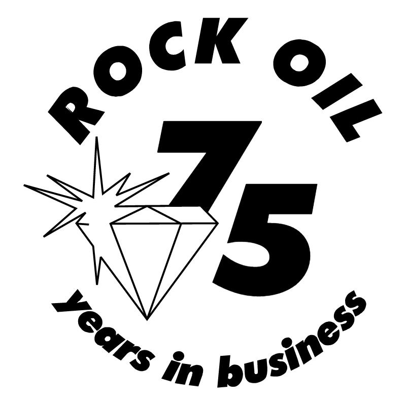Rock Oil vector