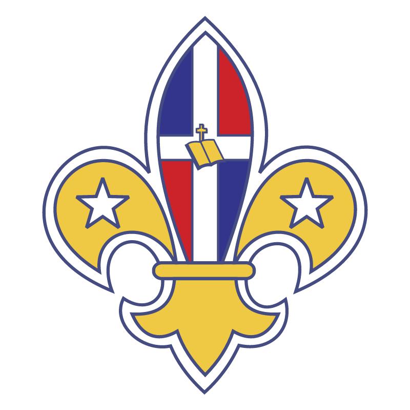 Scouts Dominicanos vector