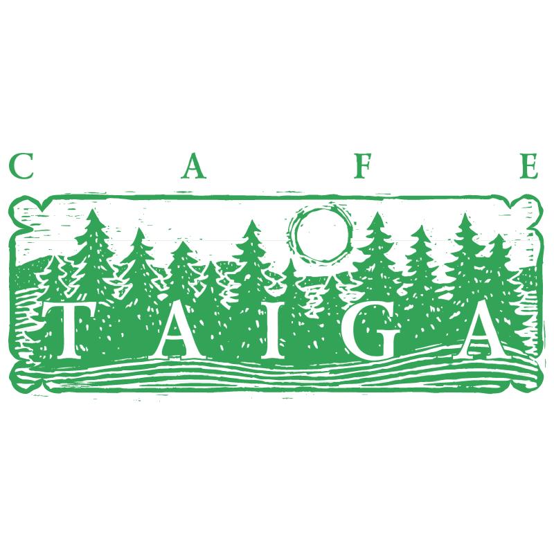 Taiga Cafe vector