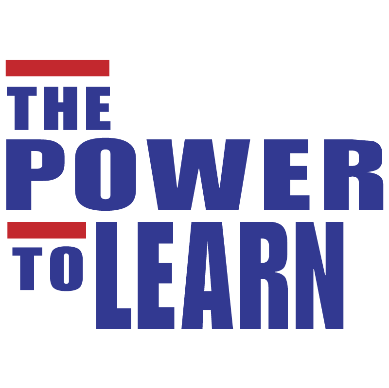 The Power To Learn vector logo