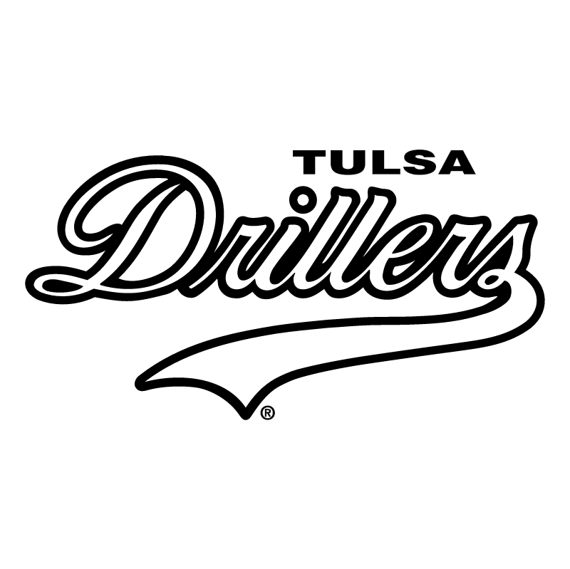 Tulsa Drillers vector