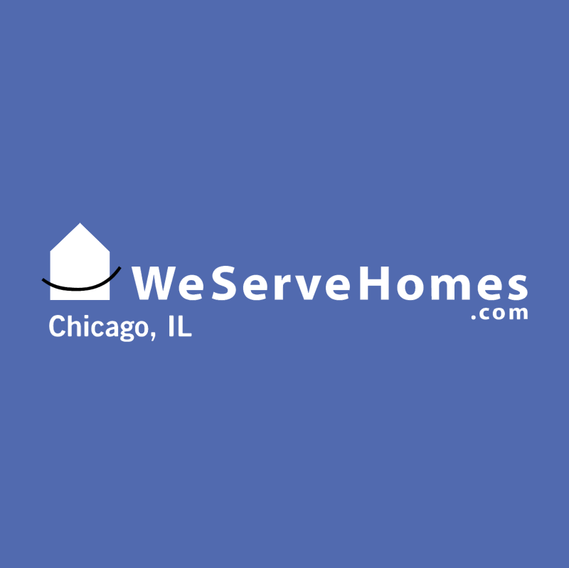 We Serve Homes vector