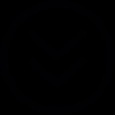 Arrows pointing down vector logo