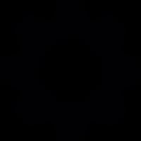 Cogwheel machine part vector