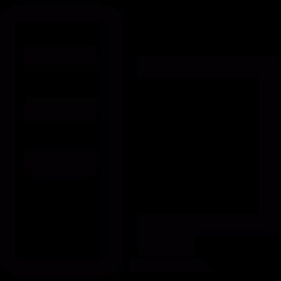 Workstation vector logo