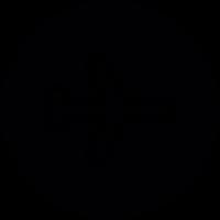 Flight Circular Sign vector
