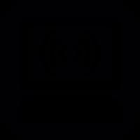 Desktop computer detecting signal vector