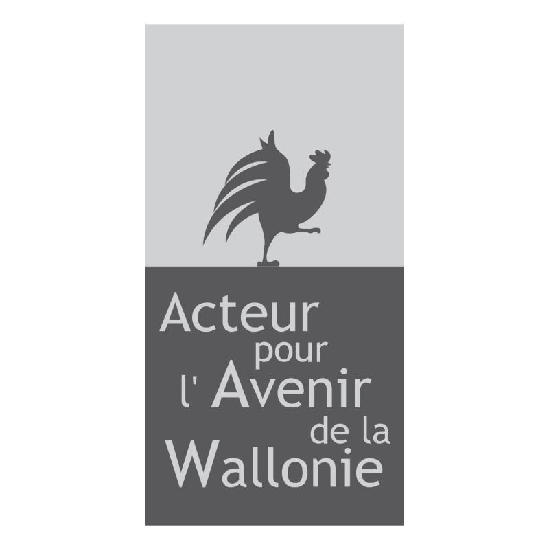 Acteur pour l'Avenir de la Wallone 51895 vector