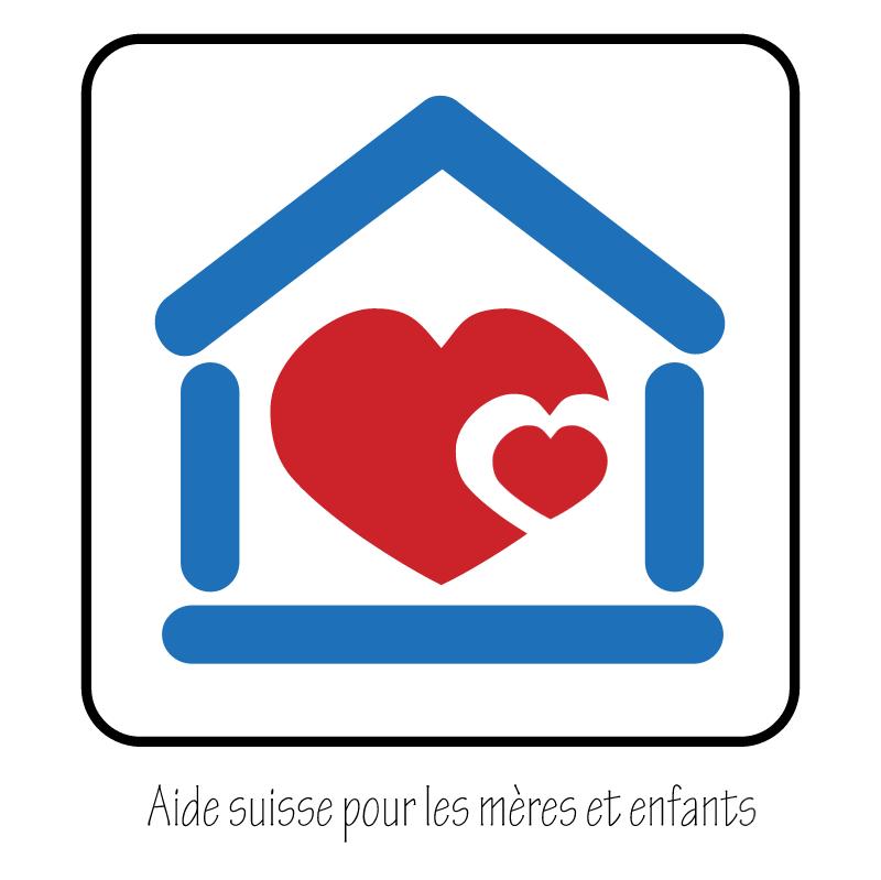 Aide suisse pour les meres et enfants vector