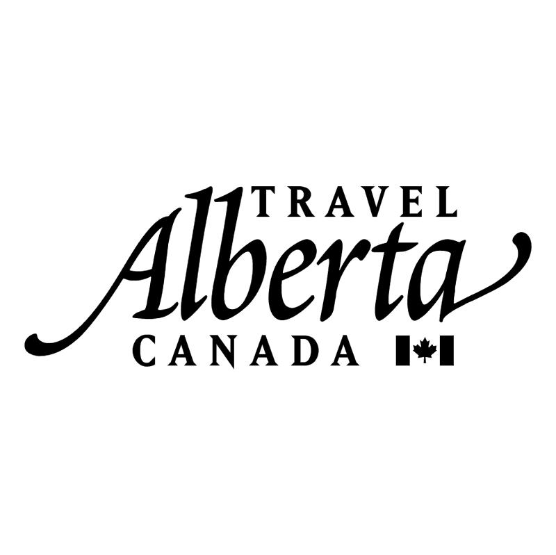 Alberta Travel vector