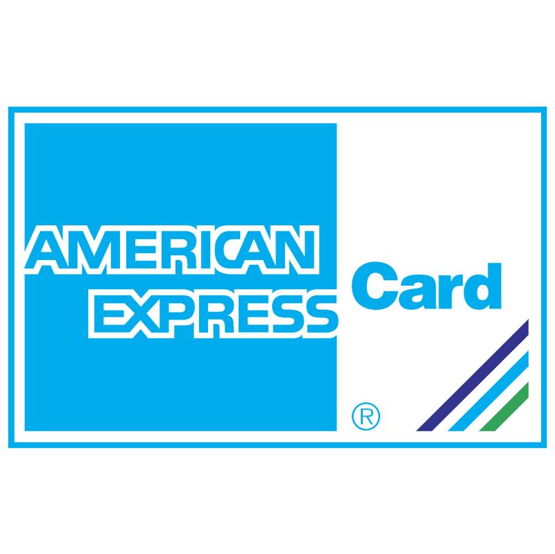 American Express Card vector