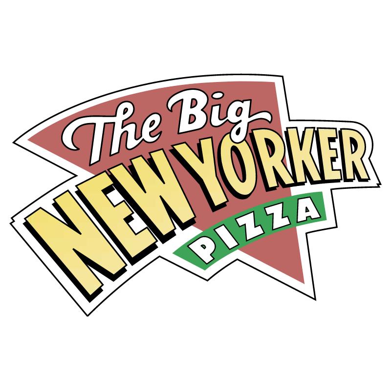 Big New Yorker Pizza vector