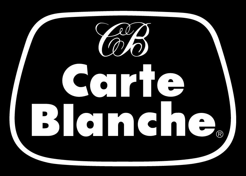 Carte Blanche logo vector