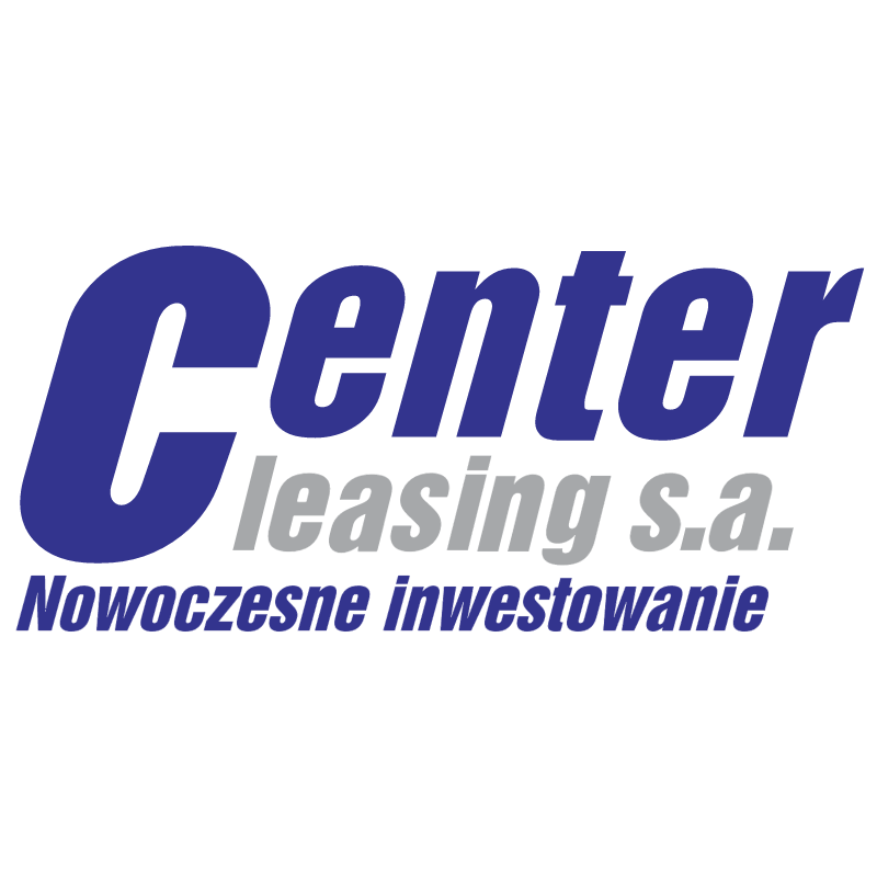 Center Leasing vector