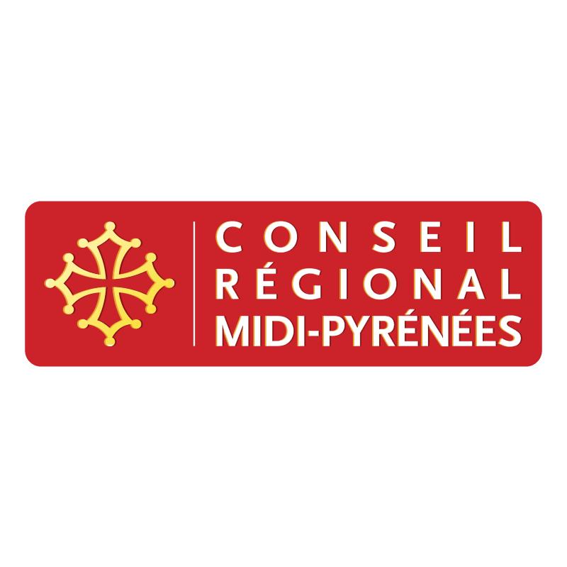 Conseil Regional Midi Pyrenees vector