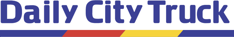 DAILY CITY TRUCK vector logo