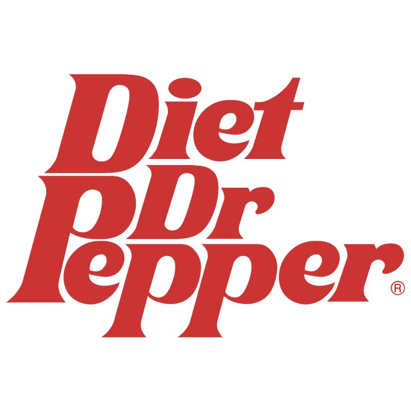 Dr Pepper Diet vector