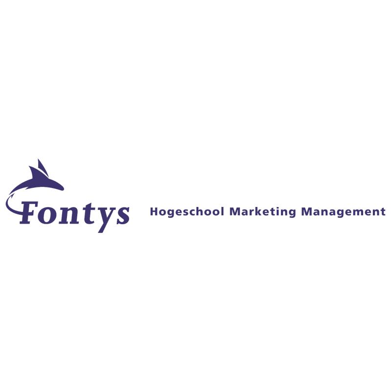 Fontys Hogeschool Marketing Management vector