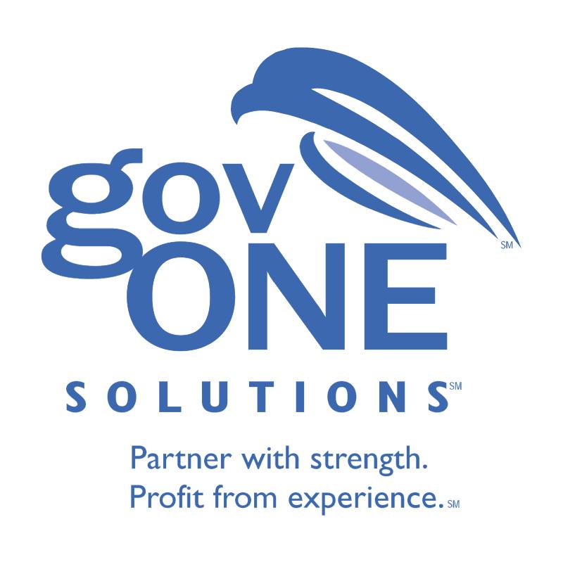 govONE Solutions vector logo