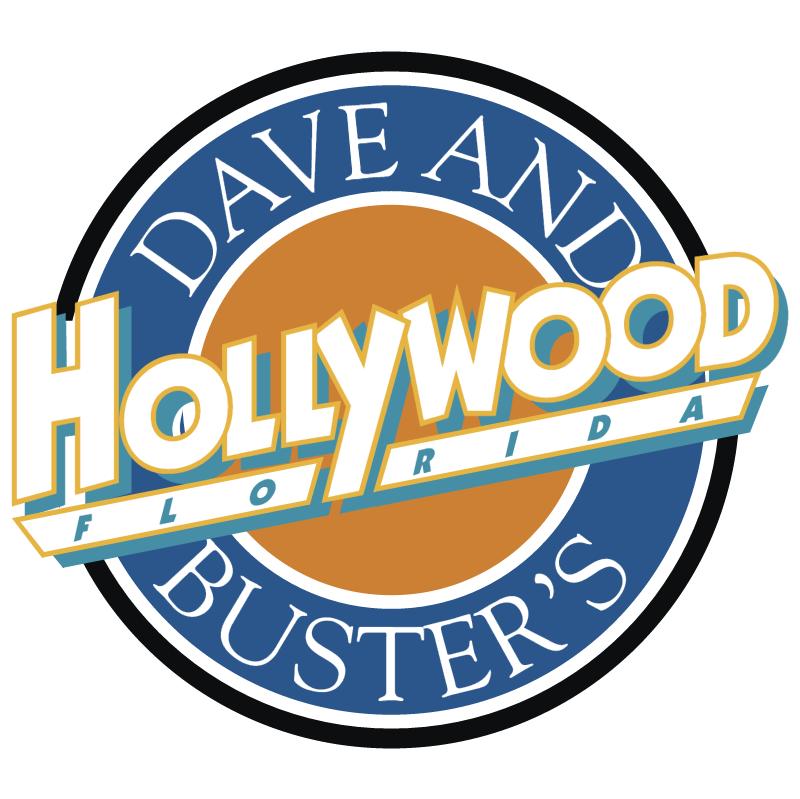 Hollywood Florida vector logo