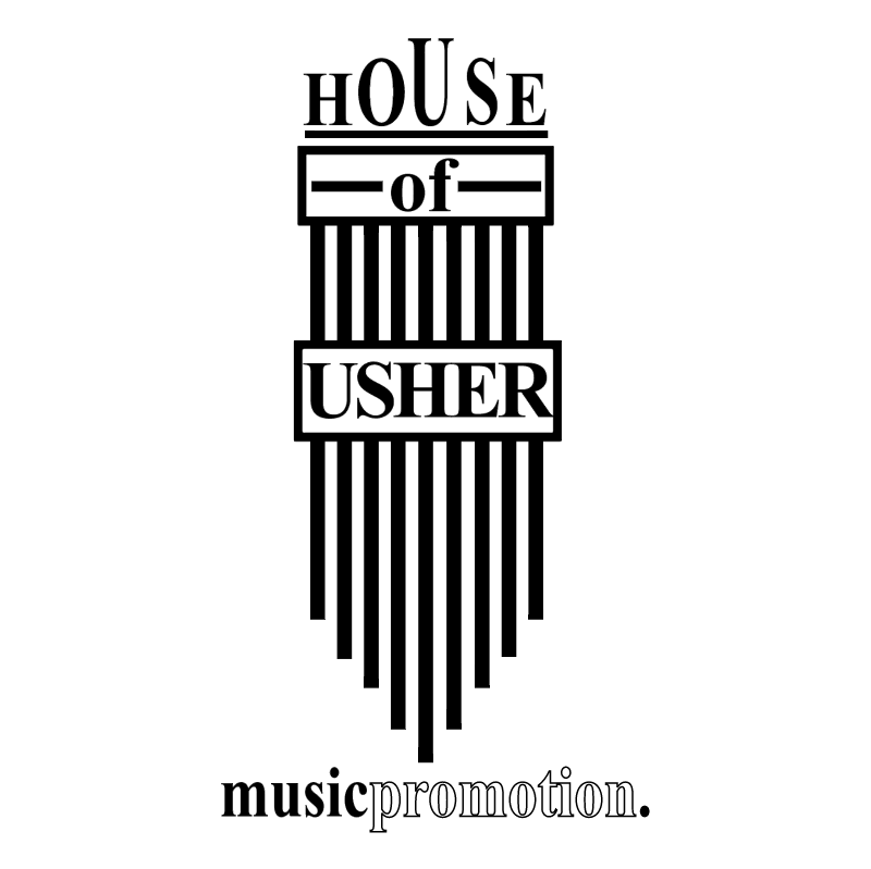 House of Usher Music Promotion vector
