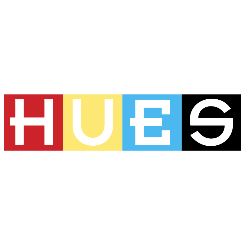 Hues vector logo