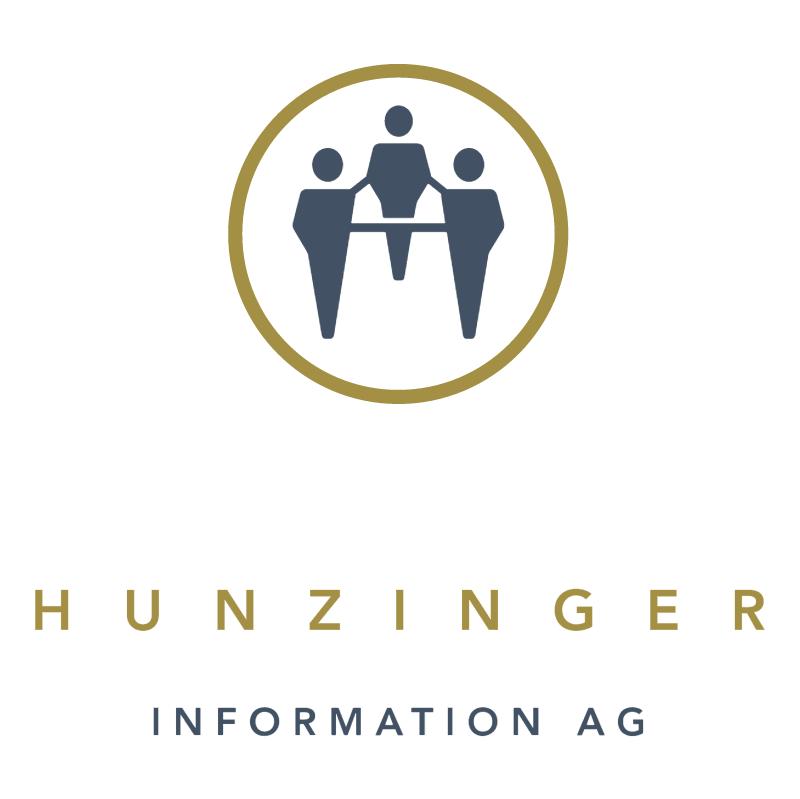 Hunzinger Information vector logo