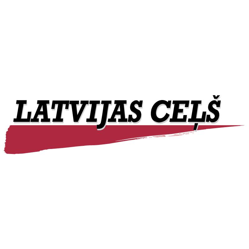 Latvijas Cels vector