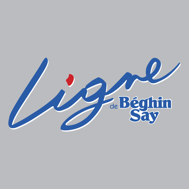Ligne de Beghin Say vector