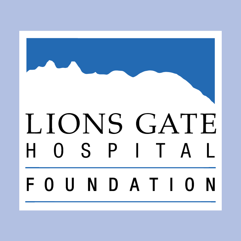 Lions Gate Hospital Foundation vector