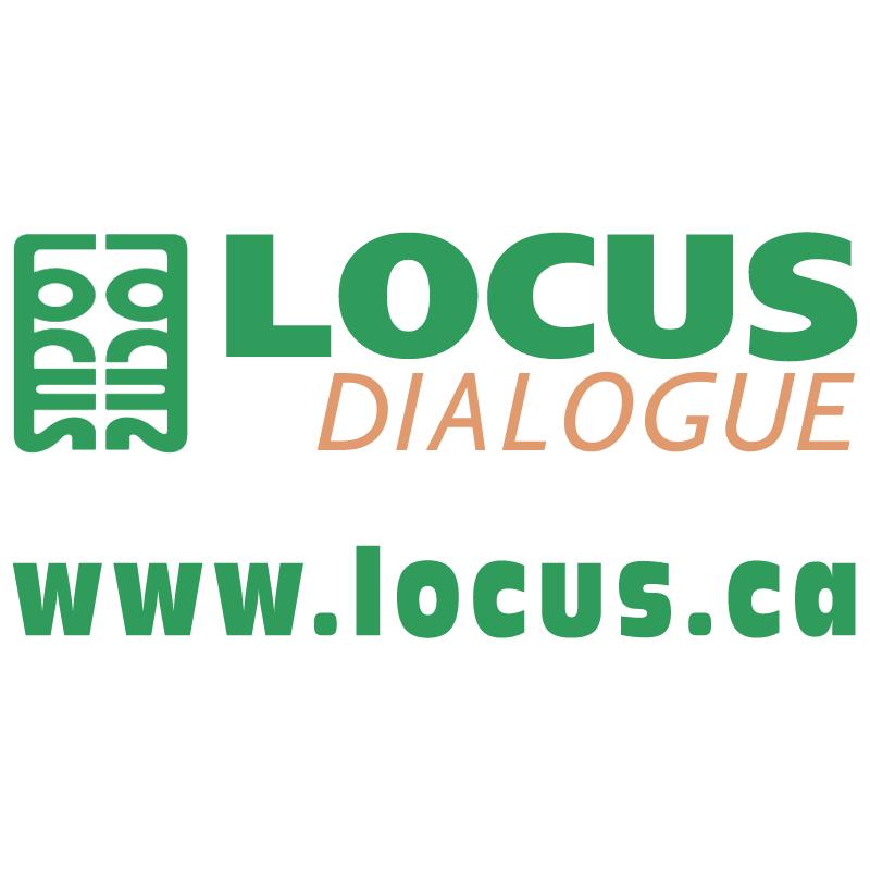 Locus Dialogue vector logo