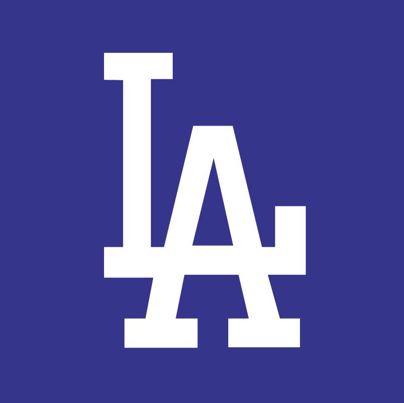 Los Angeles Dodgers vector