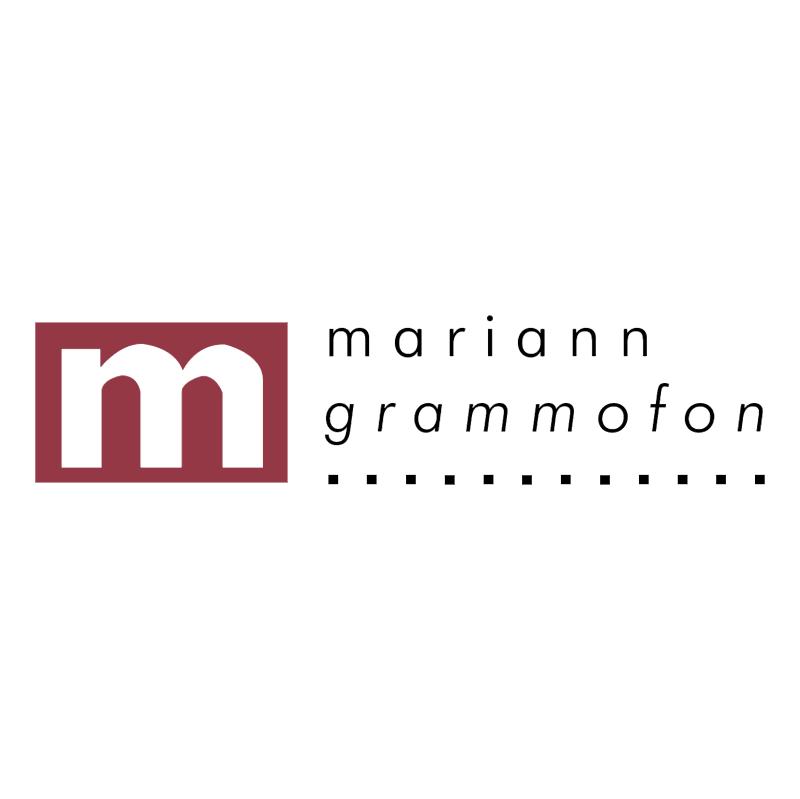 Mariann Grammofon vector