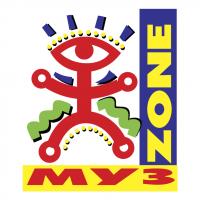 Muz Zone vector