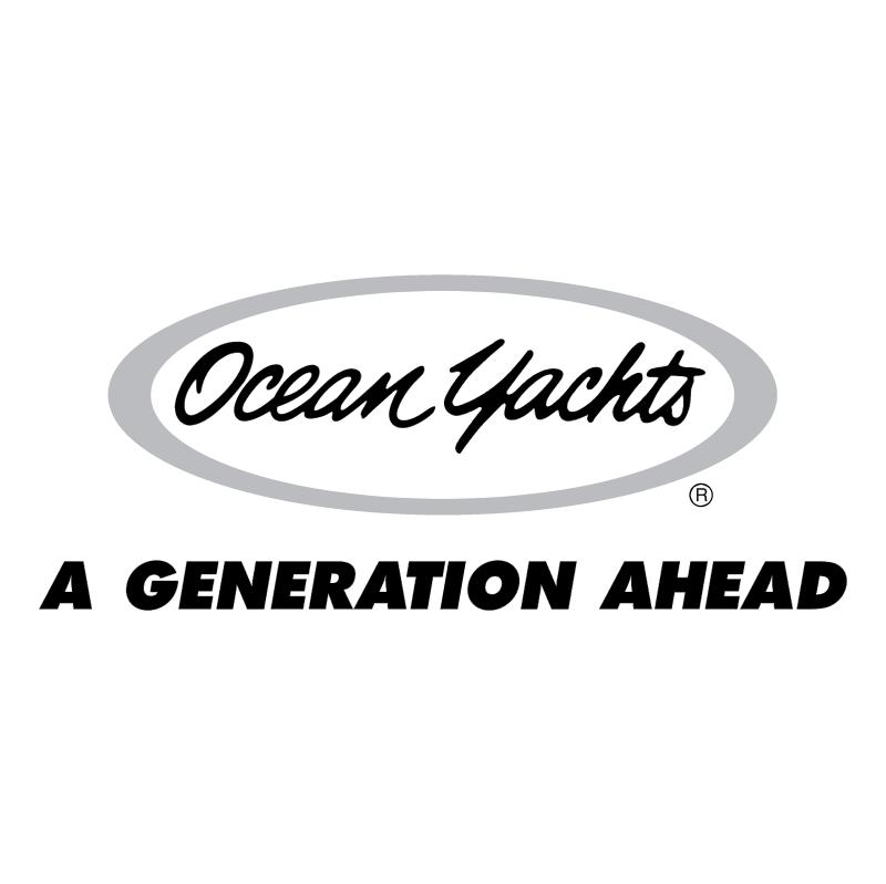 Ocean Yachts vector